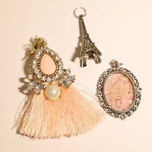🌺2/15$ Set of 3 pendants costume jewelry boho